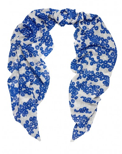 Add a bold-printed silk wool scarf like this one from Beulah to your Christmas list. £85, beulahlondon.com
