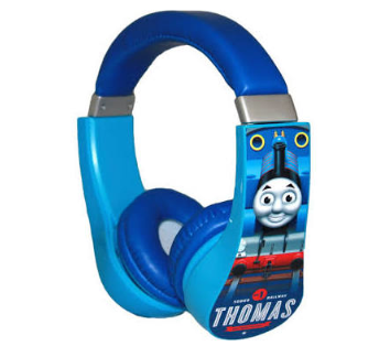 Kid safe Thomas The Tank headphones with adjustable band. £14.99, smythstoys.com