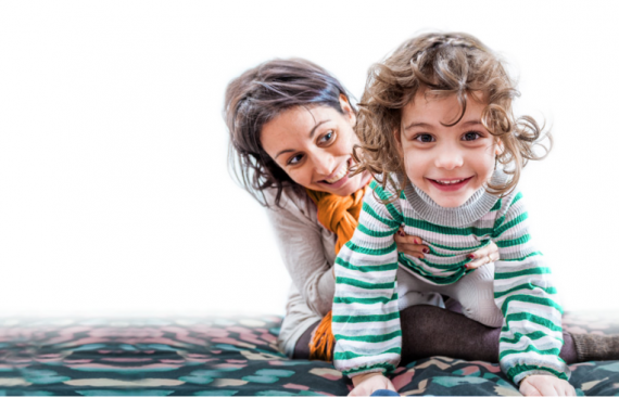 We liked the idea of the flexibility (not to mention free babysitting) that an au pair would bring
