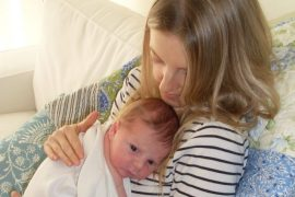 "Postnatal depression: ""I wish I'd got help sooner"""