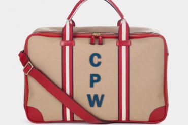 The bespoke Walton bag from Anya Hindmarch, £950, anyahindmarch.com