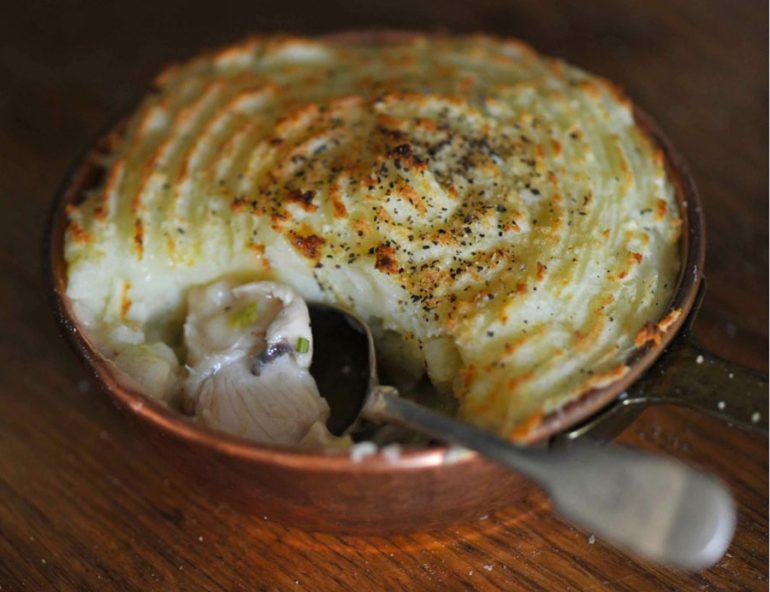 Ned de Uphaugh's chicken pie with fennel