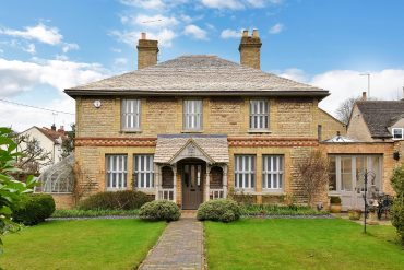 An impressive Victorian Stone villa set in the older part of the popular village of Ryhall, Rutland £750k Agent: Humberts; 01780 758090