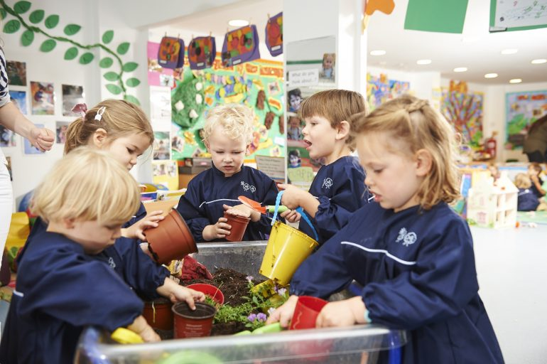 You can even do Forest School indoors