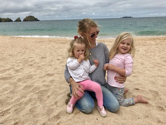 Etta Rodgers with her daughters
