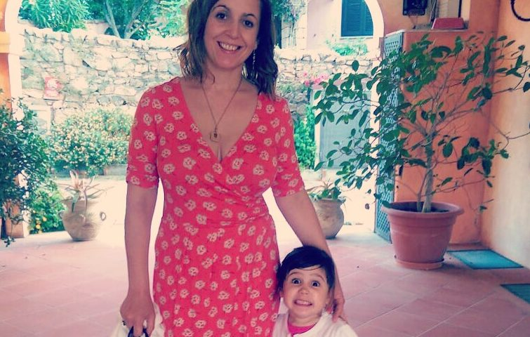 Tracy and her daughter