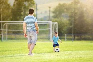 Are you a competitive dad?