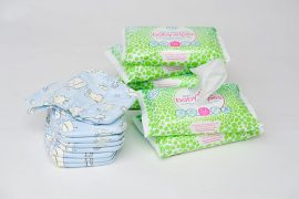 Natasha Kaplinsky OBE is behind these eco friendly nappies and wipes