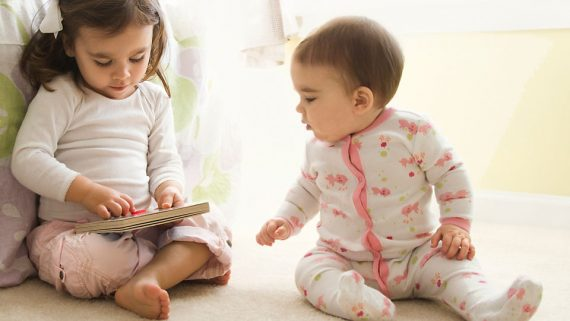 Nothing is more challenging for a child than a new sibling