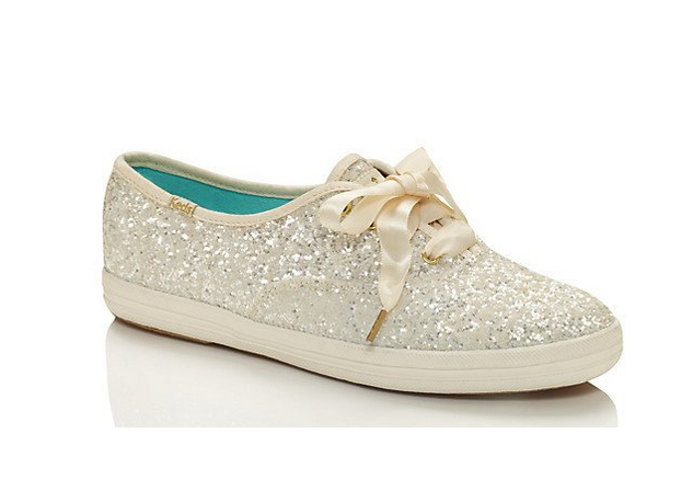 Sparkly trainers from Kate Spade