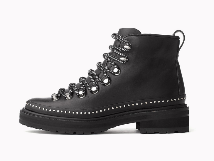 Rag n Bones hiker-style boots will give you a bit of extra height while still being comfortable