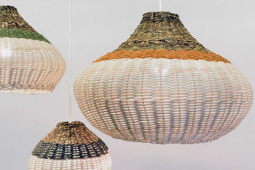wicker pendant from boex