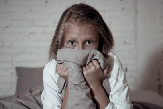 Phobias in children are rare