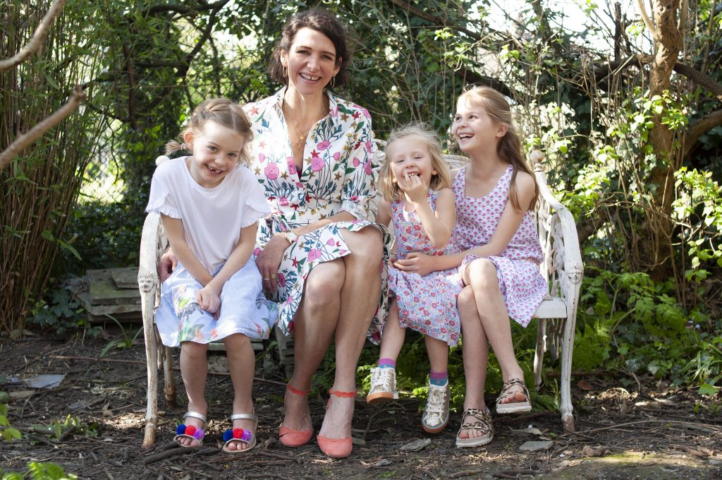 Thomasina Miers and her daughters are wearing Boden's new collection