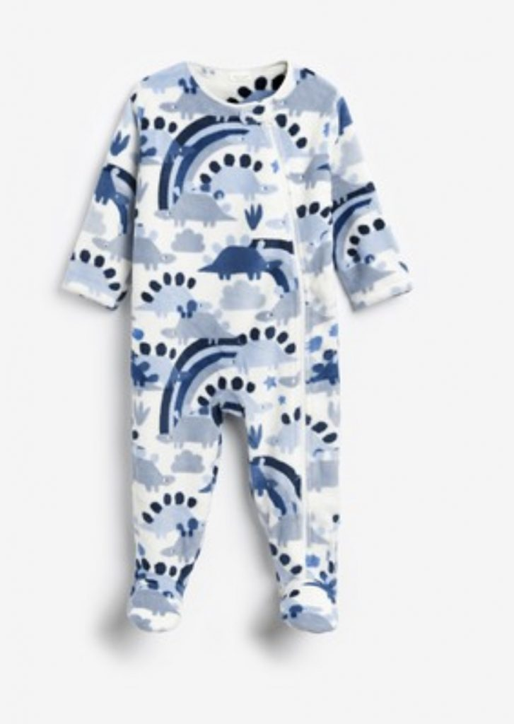 Next dinosaur sleep suit Fleece