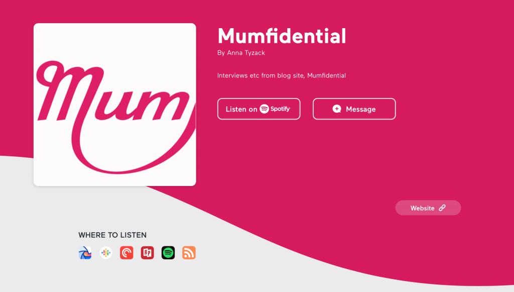 Mumfidential podcast